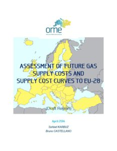 OME_Assessment of Future Gas Supply Costs and Supply Cost Curves to EU-28