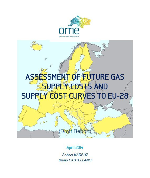 Assessment of Future Supply Costs and Supply Cost Curves to EU-28, April 2014