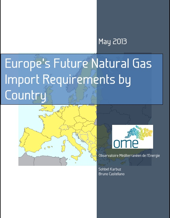 Europe's Future Natural Gas Import Requirements by Country, May 2013
