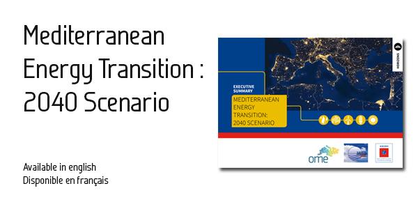 The OME/MEDENER Mediterranean Energy Scenario 2040, July 2016