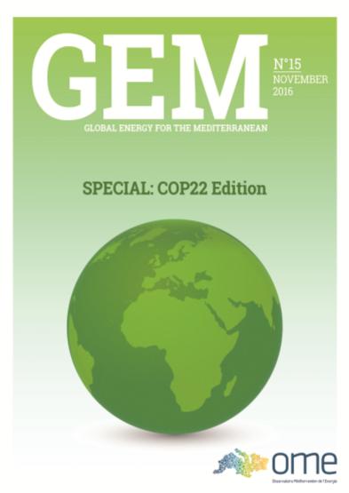 GEM 15 – Special COP22 Edition – November 2016