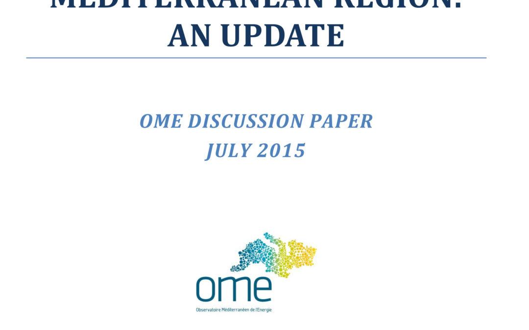 Shale gas in the Euro-Mediterranean Region: an update, July 2015