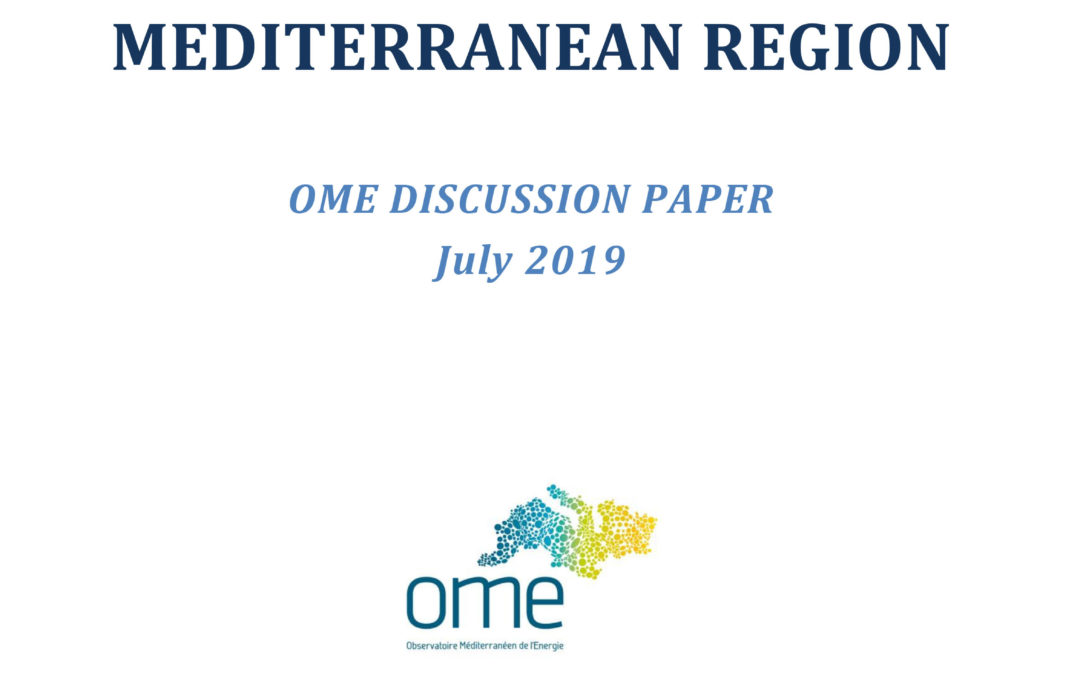 Small Scale LNG Business Options in the Mediterranean Region, July 2019